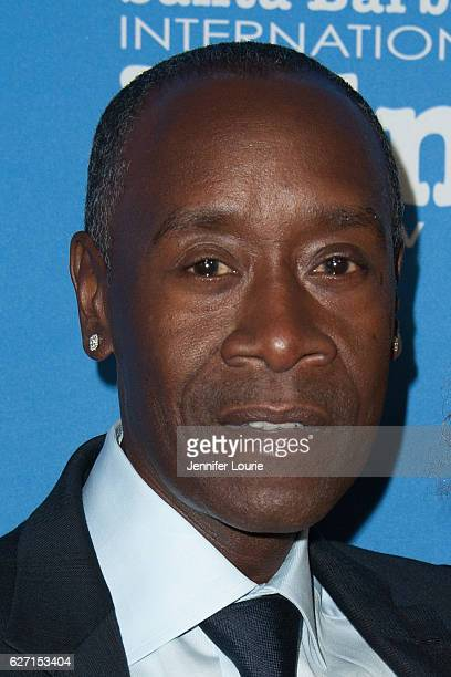 Actor Don Cheadle arrives at the Santa Barbara International Film Festival honors Warren Beatty with the 11th Annual Kirk Douglas Award for...
