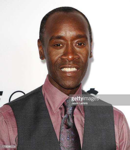 """Actor Don Cheadle attends a special screening of """"Hou$e of Lie$"""" at Leonard H. Goldenson Theatre on June 6, 2013 in North Hollywood, California."""