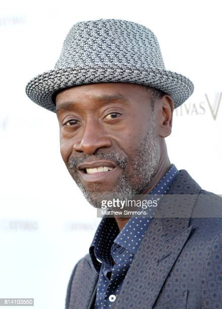 Actor Don Cheadle attends Chivas Regal The Final Pitch at LADC Studios on July 13 2017 in Los Angeles California