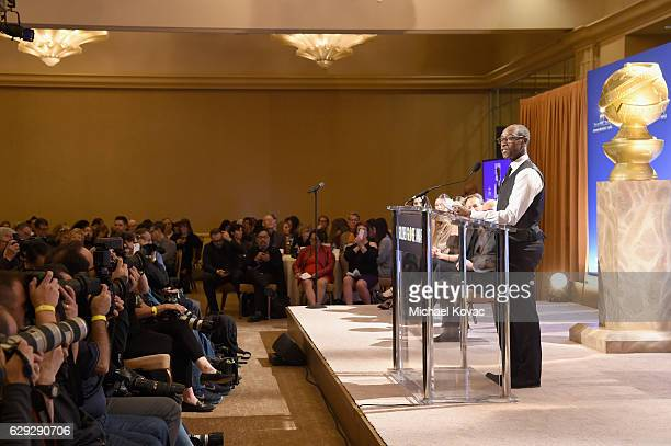 Actor Don Cheadle attends Moet Chandon toast to the 74th Annual Golden Globe Awards nominations on December 12 2016 in Los Angeles California