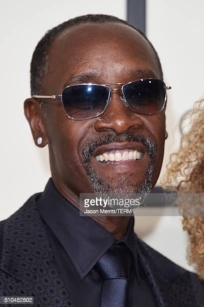 Actor Don Cheadle attends The 58th GRAMMY Awards at Staples Center on February 15 2016 in Los Angeles California