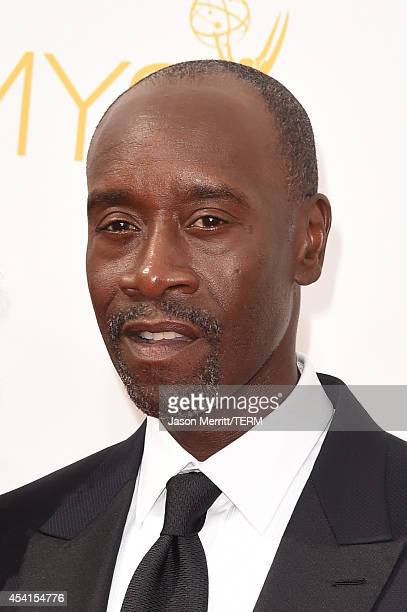 Actor Don Cheadle attends the 66th Annual Primetime Emmy Awards held at Nokia Theatre LA Live on August 25 2014 in Los Angeles California