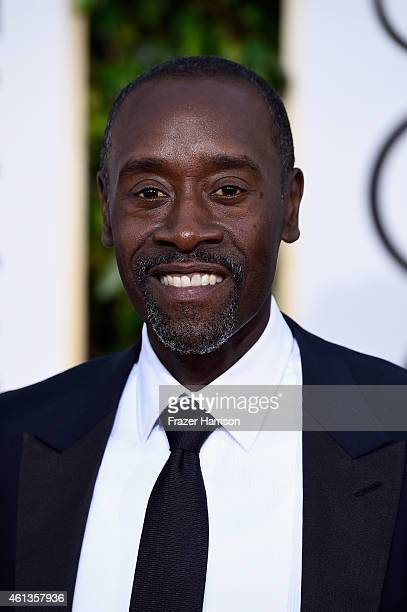 Actor Don Cheadle attends the 72nd Annual Golden Globe Awards at The Beverly Hilton Hotel on January 11 2015 in Beverly Hills California