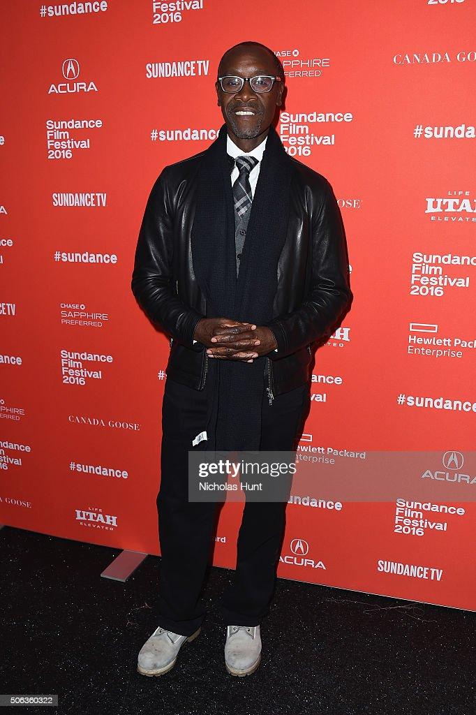 """Miles Ahead"" Premiere - 2016 Sundance Film Festival"