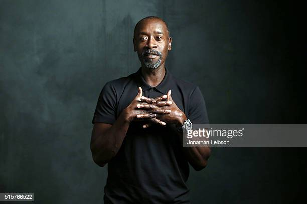 Actor Don Cheadle attends The Samsung Studio at SXSW 2016 on March 15 2016 in Austin Texas