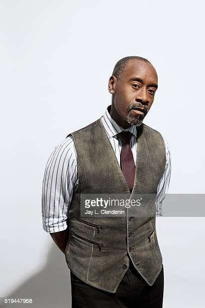 Actor Don Cheadle from 'Miles Ahead' is photographed for Los Angeles Times on March 29 2016 in Los Angeles California PUBLISHED IMAGE CREDIT MUST...