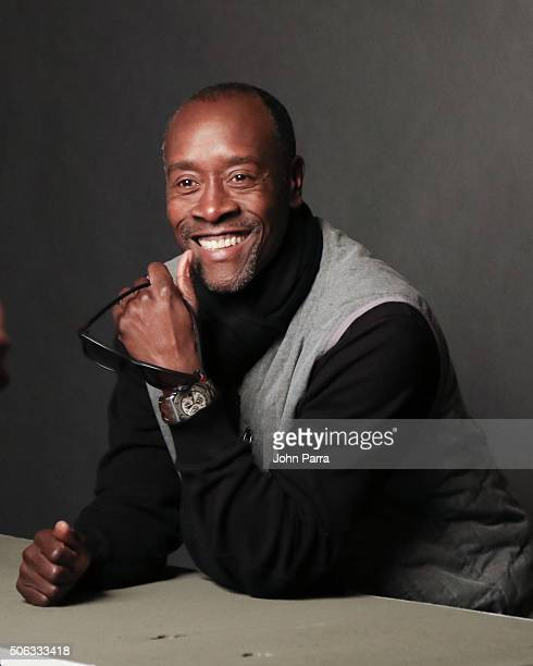 Actor Don Cheadle from the film 'Miles Ahead' poses for a portrait during the Hollywood Reporter 2016 Sundance Studio at Rock Reilly's Day 1 on...