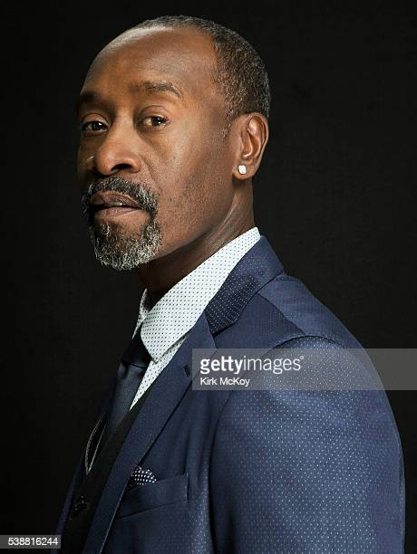 Actor Don Cheadle is photographed for Los Angeles Times on April 29 2016 in Los Angeles California PUBLISHED IMAGE CREDIT MUST READ Kirk McKoy/Los...