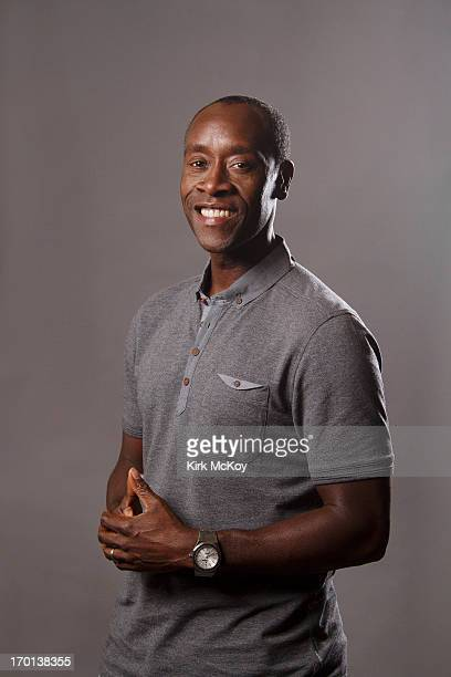 Actor Don Cheadle is photographed for Los Angeles Times on April 30 2013 in Los Angeles California PUBLISHED IMAGE CREDIT MUST BE Kirk McKoy/Los...