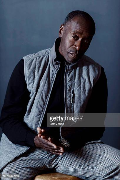 Actor Don Cheadle of 'Miles Ahead' poses for a portrait at the 2016 Sundance Film Festival on January 22 2016 in Park City Utah