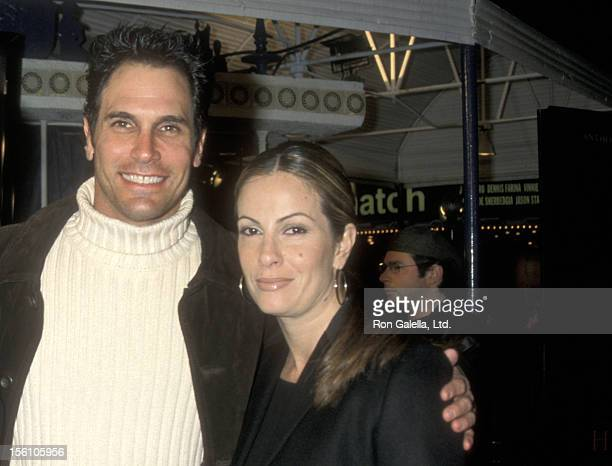 Actor Don Diamont and wife Rachel Braun attend the 'Hannibal' Westwood Premiere on February 1 2001 at Mann Village Theatre in Westwood California