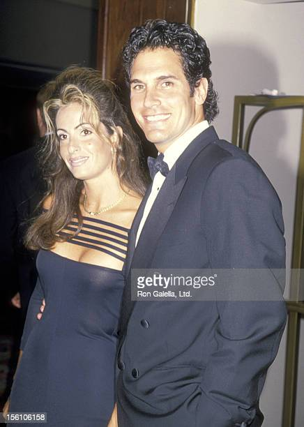 Actor Don Diamont and wife Rachel Braun attend the St Jude Children's Research Hospital Gala Benefit on June 10 1994 at Century Plaza Hotel in Los...
