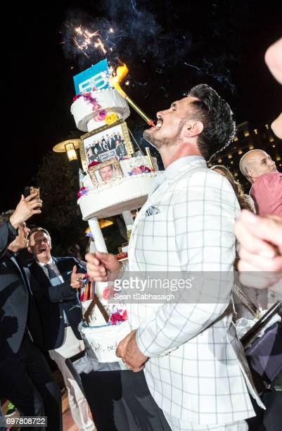 Actor Don Diamont celebrated on the dance floor at the 'The Bold and The Beautiful' 30th Anniversary Party during the 57th Monte Carlo TV Festival...
