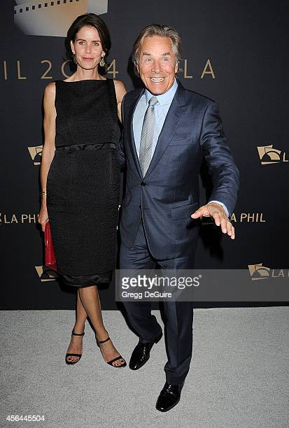 Actor Don Johnson and wife Kelley Phleger arrive at The Los Angeles Philharmonic Opening Night Concert And Gala at Walt Disney Concert Hall on...