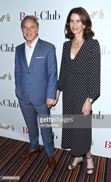 Actor Don Johnson and wife Kelley Phleger attend the screening of Book Club hosted by Paramount Pictures with The Cinema Society and Lindt at City...