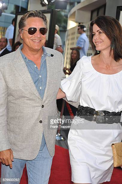Actor Don Johnson and wife Kelly Phleger arrive at the world premiere of Universal Pictures' Funny People held at the ArcLight Theater in Hollywood