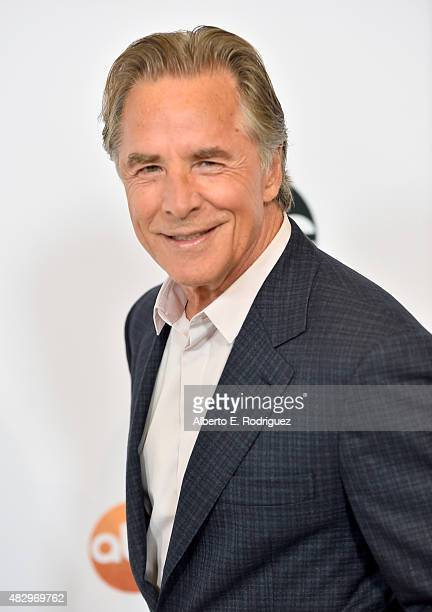 Actor Don Johnson attends Disney ABC Television Group's 2015 TCA Summer Press Tour at the Beverly Hilton Hotel on August 4 2015 in Beverly Hills...