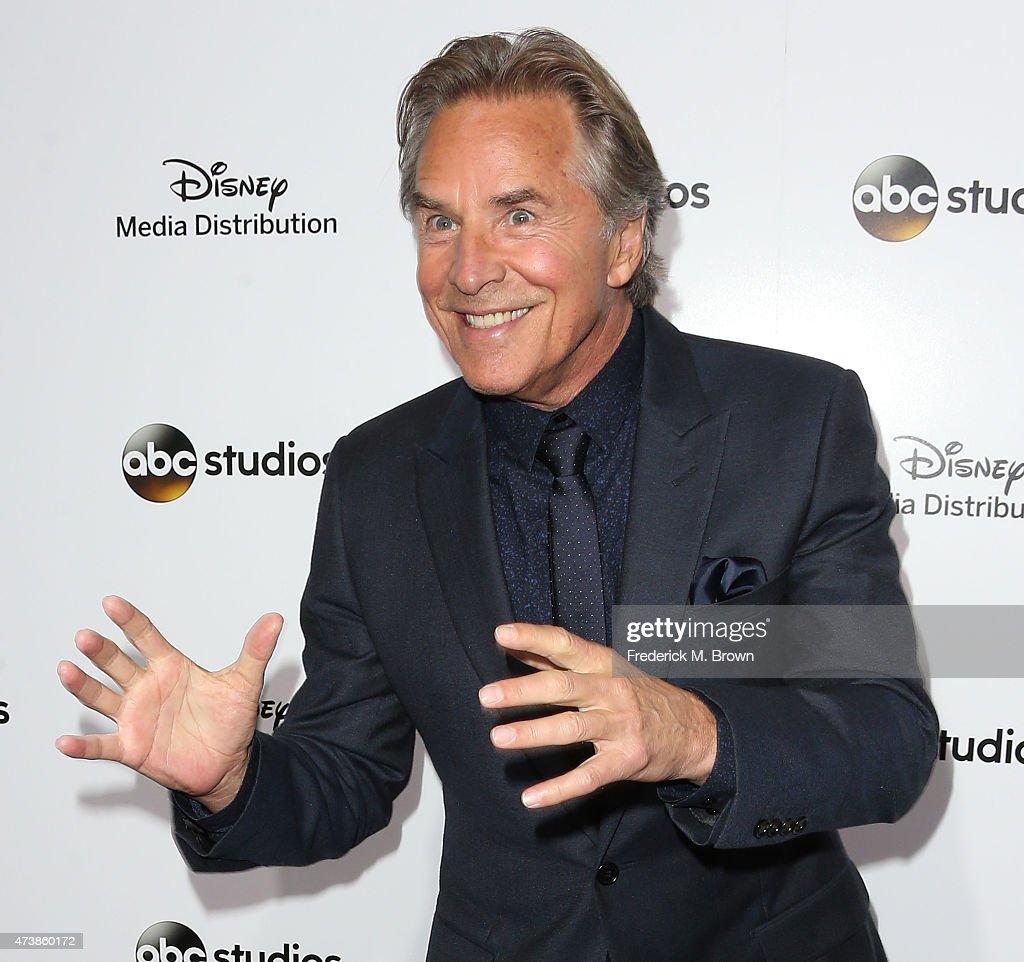 Actor Don Johnson attends Disney Media Disribution International Upfronts at Walt Disney Studios on May 17, 2015 in Burbank, California.