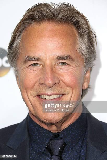 Actor Don Johnson attends Disney Media Disribution International Upfronts at Walt Disney Studios on May 17 2015 in Burbank California
