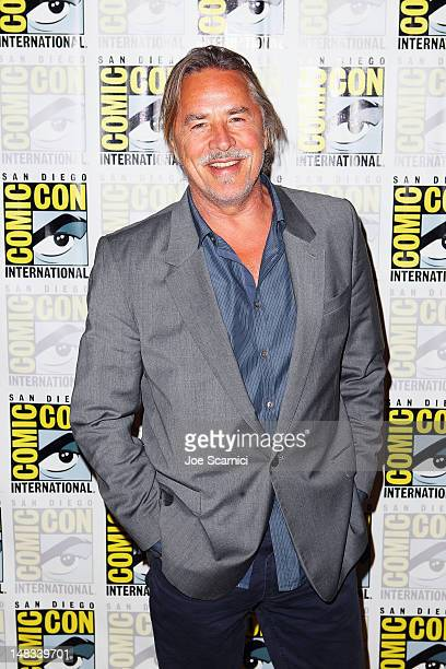 Actor Don Johnson attends 'Django Unchained' at ComicCon 2012 at Hilton San Diego Bayfront Hotel on July 14 2012 in San Diego California
