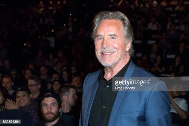 Actor Don Johnson attends the panel discussion following the Premiere Of RLJE Films' 'Brawl In Cell Block 99' at The Egyptian Theatre on September 29...