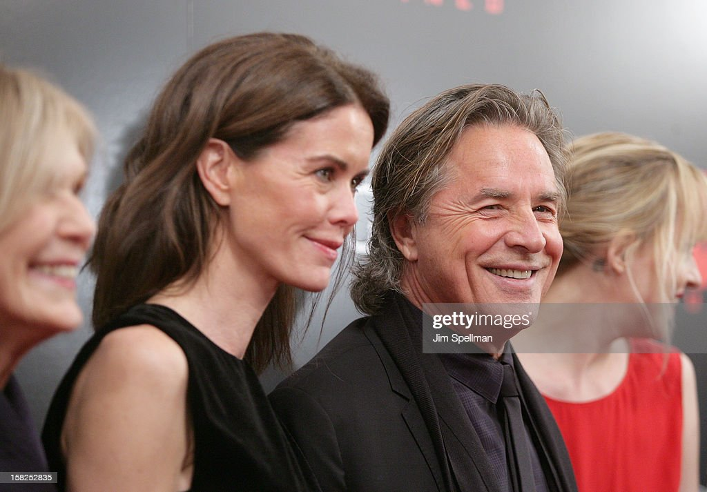 Actor Don Johnson attends The Weinstein Company with The Hollywood Reporter, Samsung Galaxy & The Cinema Society screening of 'Django Unchained' at the Ziegfeld Theatre on December 11, 2012 in New York City.