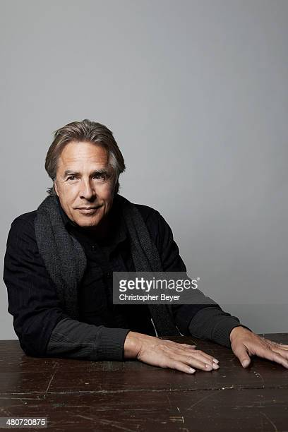 Actor Don Johnson is photographed for Entertainment Weekly Magazine on January 25 2014 in Park City Utah