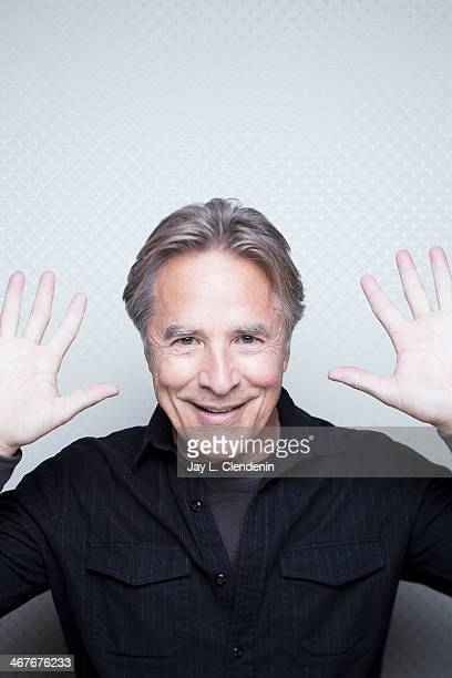 Actor Don Johnson is photographed for Los Angeles Times on January 18 2014 in Park City Utah PUBLISHED IMAGE CREDIT MUST READ Jay L Clendenin/Los...