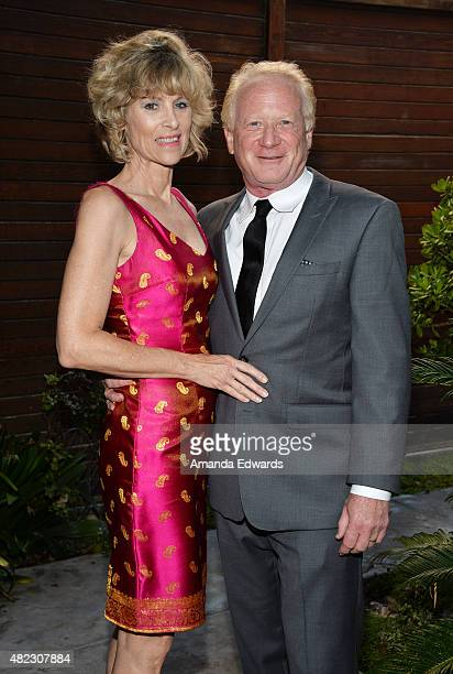 Actor Don Most and his wife Morgan Hart attend the Sam Rubin Malibu BUCKiTDREAM Dream dinner at a private residence on July 29, 2015 in Malibu,...
