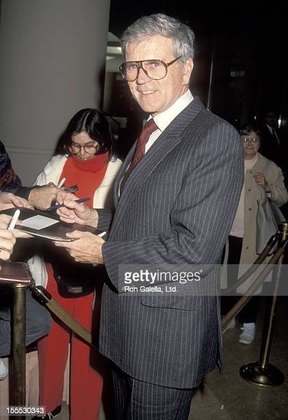 Actor Don Murray attends the Hollywood Women's Press Club's 52nd Annual Golden Apple Awards on December 13 1992 at Beverly Hilton Hotel in Beverly...