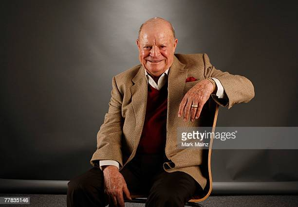 Actor Don Rickles of the film 'Mr Warmth The Don Rickles Project' poses in the portrait studio during AFI FEST 2007 presented by Audi held at...
