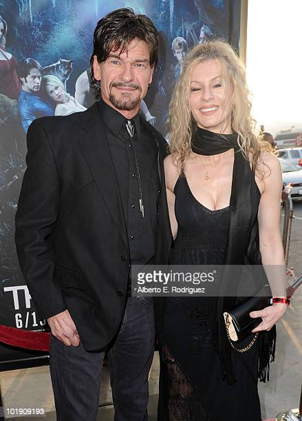 Actor Don Swayze and guest arrive at HBO's True Blood Season 3 premiere held at ArcLight Cinemas Cinerama Dome on June 8 2010 in Hollywood California