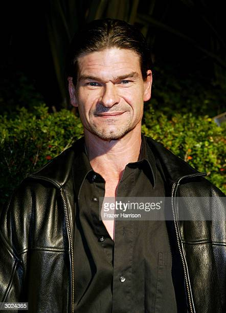 Actor Don Swayze arrives at Miramax's Annual Max Awards PreOscar party held at the Regis Hotel on February 28 2004 in Beverly Hills California
