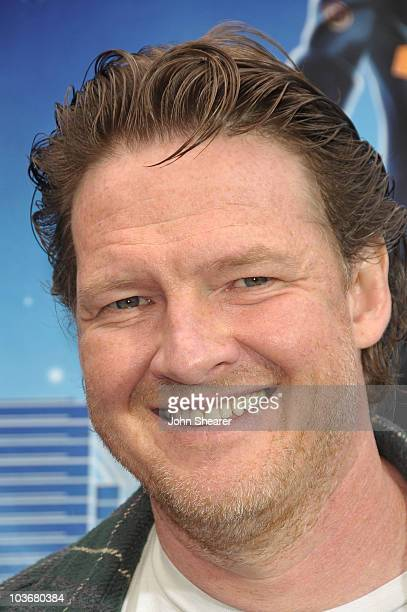 Actor Donal Logue arrives at the Los Angeles premiere of Monsters vs Aliens at the Gibson Amphitheatre on March 22 2009 in Universal City California