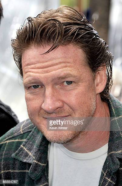 Actor Donal Logue arrives at the premiere of Dreamworks' Monsters Vs Aliens held at the Gibson Amphitheatre on March 22 2009 in Universal City...