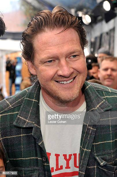 Actor Donal Logue arrives at the premiere of Monsters vs Aliens held at the Gibson Amphitheatre on March 22 2009 in Universal City California