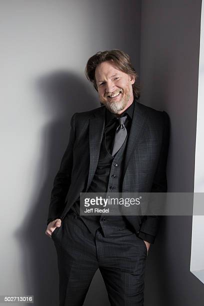 Actor Donal Logue is photographed for TV Guide Magazine on January 17 2015 in Pasadena California