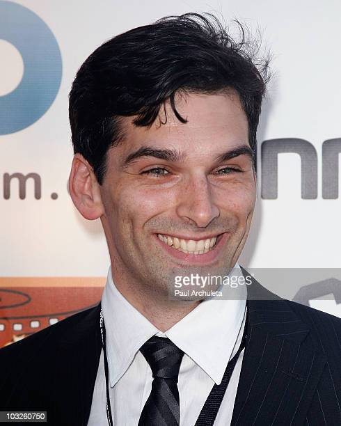 Actor Donal Thoms-Cappello arrives at the 6th annual HollyShorts film festival opening night celebration at Laemmle Sunset 5 Theatre on August 5,...