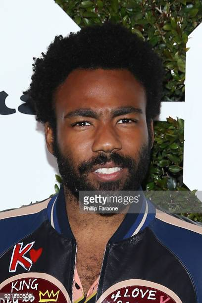 Actor Donald Glover attends Esquire's Annual Maverick's of Hollywood at Sunset Tower on February 20 2018 in Los Angeles California