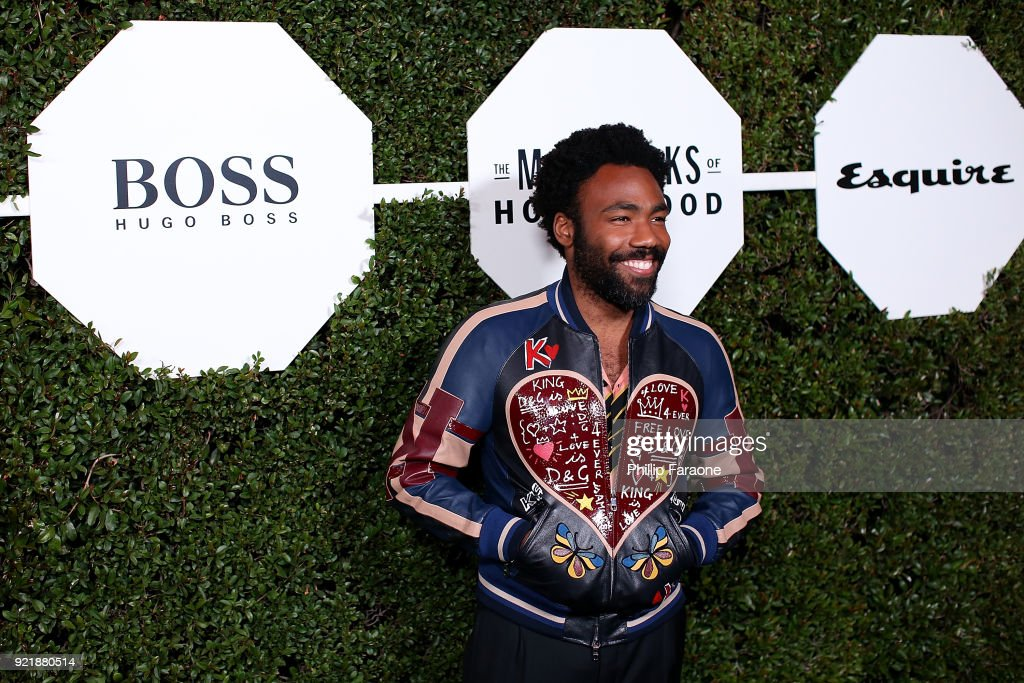 Actor Donald Glover attends Esquire's Annual Maverick's of Hollywood at Sunset Tower on February 20, 2018 in Los Angeles, California.