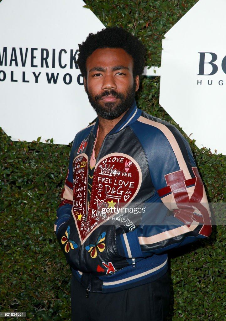 Actor Donald Glover attends the Esquire's Annual Maverick's of Hollywood at Sunset Tower on February 20, 2018 in Los Angeles, California.