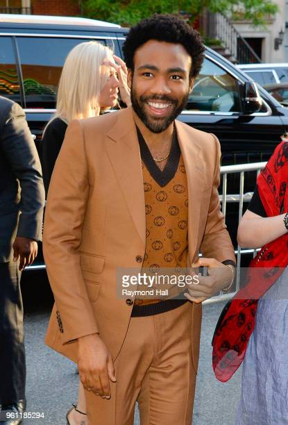 Actor Donald Glover is seen walking in Midtown on May 21 2018 in New York City