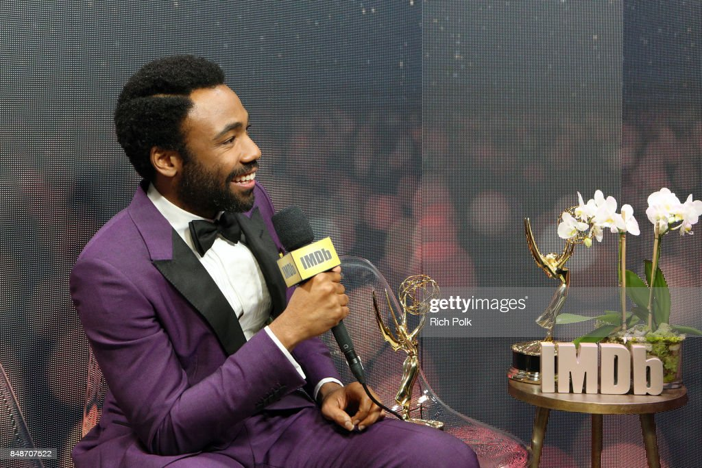 Actor Donald Glover, winner of the award for Outstanding Lead Actor in a Comedy Series for 'Atlanta,' attends IMDb LIVE After the Emmys at Microsoft Theater on September 17, 2017 in Los Angeles, California.