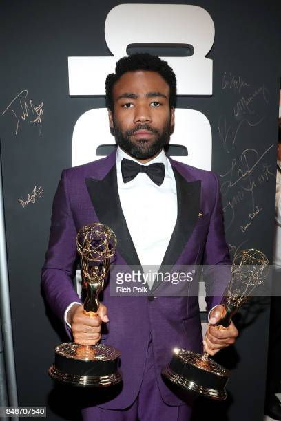 Actor Donald Glover winner of the award for Outstanding Lead Actor in a Comedy Series for 'Atlanta' attends IMDb LIVE After the Emmys at Microsoft...