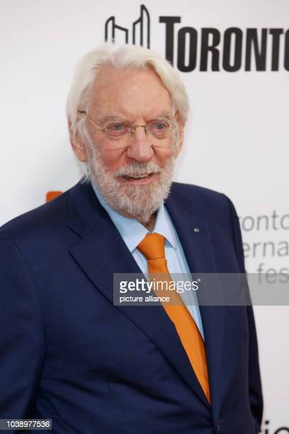 Actor Donald Sutherland attends the premiere of Forsaken during the 40th Toronto International Film Festival TIFF at Roy Thomson Hall in Toronto...