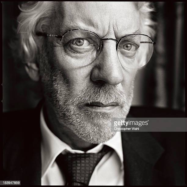 Actor Donald Sutherland is photographed for Self Assignment on September 1 2007 in Toronto Ontario