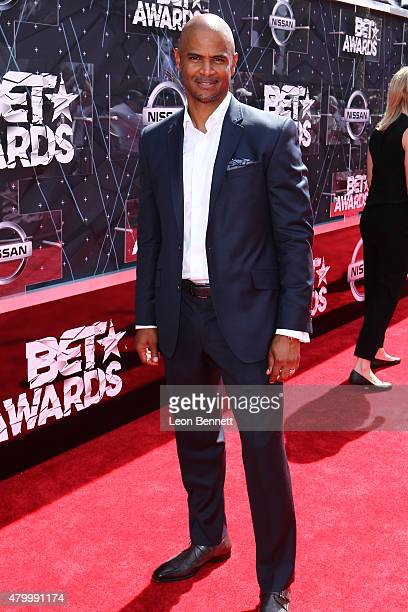 Actor Dondre Whitfield arrived at the BET Make A Wish Foundation Recipients BET Experience At LA Live Red Carpet arrivals Weekend Events on June 28...