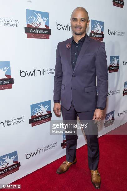 Actor Dondre Whitfield attend the 2017 Black Women Film Summit Untold Stories awards luncheon at Atlanta Marriott Marquis on March 3 2017 in Atlanta...