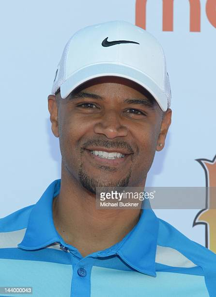 Actor Dondre Whitfield attend the 5th Annual George Lopez Celebrity Golf Classic to Benefit The Lopez Foundation at Lakeside Golf Club on May 7 2012...