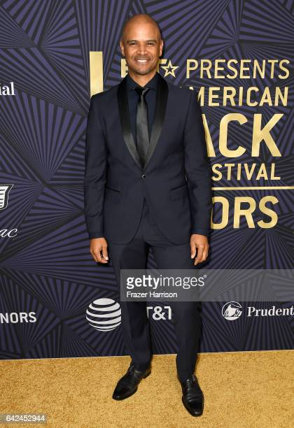 Actor Dondre Whitfield attends BET Presents the American Black Film Festival Honors on February 17 2017 in Beverly Hills California